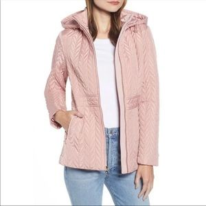 Kate Spade New York Hooded Quilted Jacket Size XS